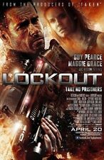 Lockout Original Double-Sided One Sheet Rolled Movie Poster 27x40 NEW 2012