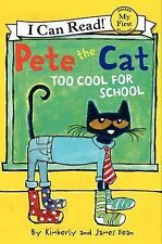 Pete the Cat Too Cool for School early beginning reader kids learn to read book