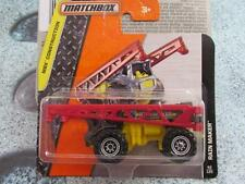Matchbox 2016 #042/120 RAIN MAKER grey with red arms MBX Construction Case B