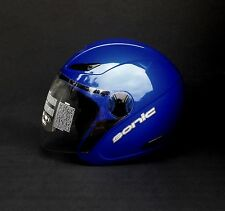 SONIC MDS Blue Motorcycle helmet with VISOR size XL