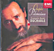 FRANÇOIS-RENÉ DUCHABLE polonaises CHOPIN CD 1997 EMI piano EX++