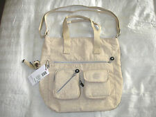New Kipling TM5146-129 Joslyn Coated Tote - Creme Beige