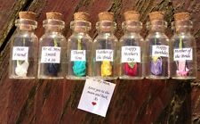 Personalised Message In A Bottle Gift Mother's Day Thank You Wedding Favour Gift