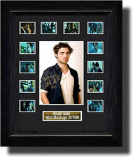 Twilight Signed by Robert Pattinson film cell  (2008) (a)