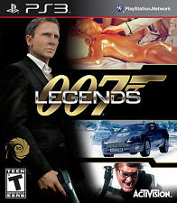 JAMES BOND 007 LEGENDS PS3 Game (BRAND NEW SEALED)