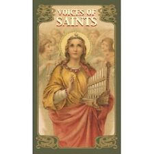 Voices of the Saints Christian NEW Sealed 78 color card deck Divination Oracle