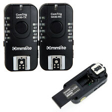 Commlite ComTrig G430C Wireless Grouping Flash Trigger 7 CH TTL fr Canon Olympus