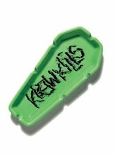 "KR3W 8"" Green Porcelain Coffin Cigarette Smoking Kr3w Kills Ashtray New in Box"
