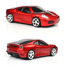 UK 2.4GHz Wireless 3D 1600DPI Ferrari Car Shape Optical Usb Gaming Mouse Mice