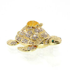 Turtles Crystal Bejeweled figurine Jewelry Box Trinket Collectible Xmas Gift,USA
