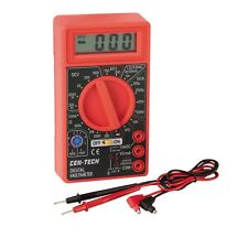 BRAND NEW AC DC MULTIMETER DIGITAL VOLTMETER WITH 9V BATTERY INCLUDED