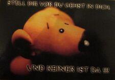 Postkarte - STELL DIR VOR DU GEHST IN DICH - Tatzino Design by Brigitte Döhren