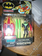TURBO FORCE NIGHTWING WITH DUAL MODE ATTACK CRAFT, FROM MISSION MASTERS 4,