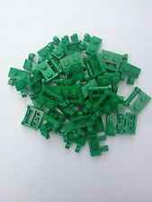 Missing Lego modified Brick 10x green id 2540 and 10x green id 60470 1x2's city