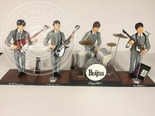 BEATLES 1991 HAMILTON FIGURE DOLL SET WITH TAGS COMPLETE 4 PIECE SET FREE S/H