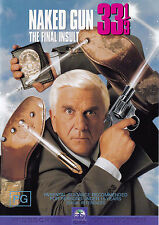 NAKED GUN 33 1/3 The Final Insult / Leslie Nielsen DVD R4  PAL