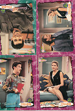 Saved By The Bell-1994-The College Years-Collector Cards-Lot 10,4 cards- Cards