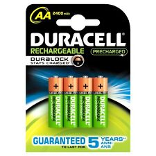 6x NEW DURACELL AA RECHARGEABLE BATTERIES 2400mAh LR6 1.2V NiMH DC1500 MN1500+