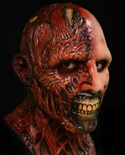 MENS DELUXE BURNT ZOMBIE MASK DARKMAN FILM SCARY FANCY DRESS HALLOWEEN MASKE NEW