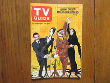 Oct 30-1965 TV Guide(THE ADDAMS FAMILY/JOHN ASTIN/CAROLYN JONES/SALLY KELLERMAN)