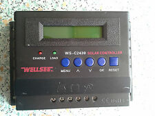 Display 20Ampere 12V 24V Solarladeregler Laderegler Regulator C2430 20A Wellsee