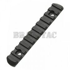 Magpul MAG409-BLK 11-Slot Accessory Picatinny Rail Section Polymer L5 + Hardware