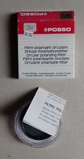 filtre polarisant circulaire POSSO 55mm double filetage