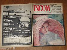 INCOM 1964/37=CATHERINE SPAAK=I CAFFE' DI CATANIA=MODA TAILLEUR=ANZIDEI=BONATTI=