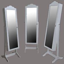 Schmuckschrank Standspiegel Make-up Schatulle Spiegelschrank Schmuckkasten LED