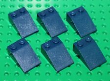 Lego 6x Dark Blue Slope 2x3 NEW!!!