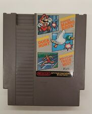Super Mario Bros. / Duck Hunt / World Class Track Meet NES Tested with Sleeve