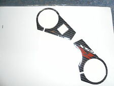 SUZUKI GSXR 1000 K9 L1 TOP YOKE PROTECTOR CARBON EFFECT