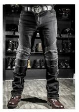 KOMINE RIDING JEANS Slim Fit Straight Leg Motorcycle Protection Gear