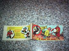TEX STRISCIA SERIE MEFISTO N.6 ORIGINALE 1959 AUDACE OTTIMA TIPO ZAGOR RANGER