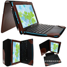 Business Folio Stand Leather case cover for Acer Aspire Switch 10E SW3-013-12TJ