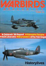 Warbirds Worldwide 6 T-6 Texans B-24 Liberator Skyraiders Yak Oskosh Britain