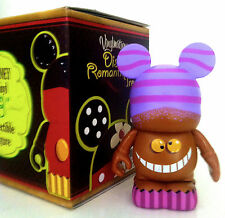 "DISNEY VINYLMATION 3"" JAPAN ROMANTIC TREATS CHESHIRE CAT ALICE IN WONDERLAND TOY"
