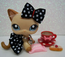 LITTLEST PET SHOP OOAK SKIRT BOW NECKLACE DONUT CANDY COCOA ACCESSORIES ONLY