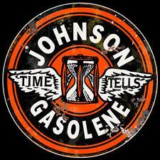 Johnson Gasolene Sign