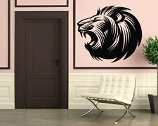 Wall Stickers Vinyl Decal Lion Animal Breeding Predator ig242