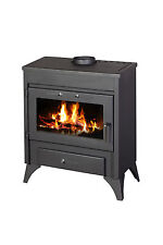 WOOD Burning Stove Fireplace Water Jacket Back Boiler Efficient MODENA B 13kw