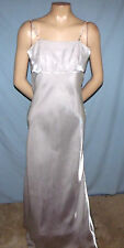 Fiesta Ultra Silky Strapless Floor Length Special Occasion Dress Size Small (3/4