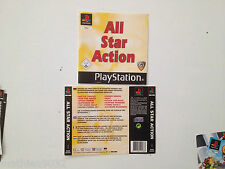 Jaquette Avant-Arriere/Front-Back Cover All star Action Playstation 1