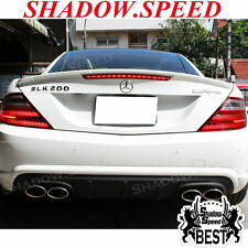 UNPAINTED SLK250 MERCEDES BENZ R172 CONVERTIBLE A TYPE TRUNK SPOILER SLK350 ✪