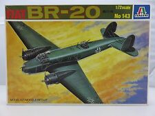 Italeri FIAT BR-20 1/72 Scale Plastic Model Kit UNBUILT