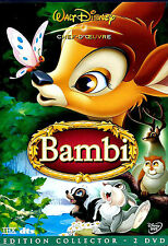 27179 // BAMBI  EDITION CHEF D'OEUVRE COLLECTOR 2 DVD  N°5 EN TBE