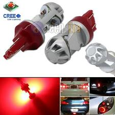 2x High Power Red 20W CREE LED 7443 7440 LED Bulbs For Turn Signal, Backup DRL