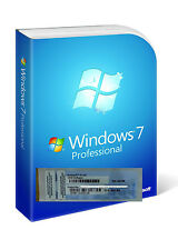 Licenza Windows 7 Professional 32/64 Bit Full Key NUOVA ORIGINALE E STICKER 2016