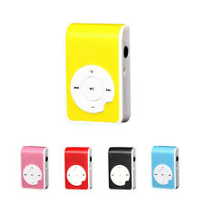 Fashion Mini Clip Métal USB MP3 Lecteur Support 32G Micro SD carte de TF Musique