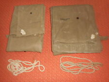 US Army: 1942 WWII  2 x airborne Shelter half Tent dated 1942